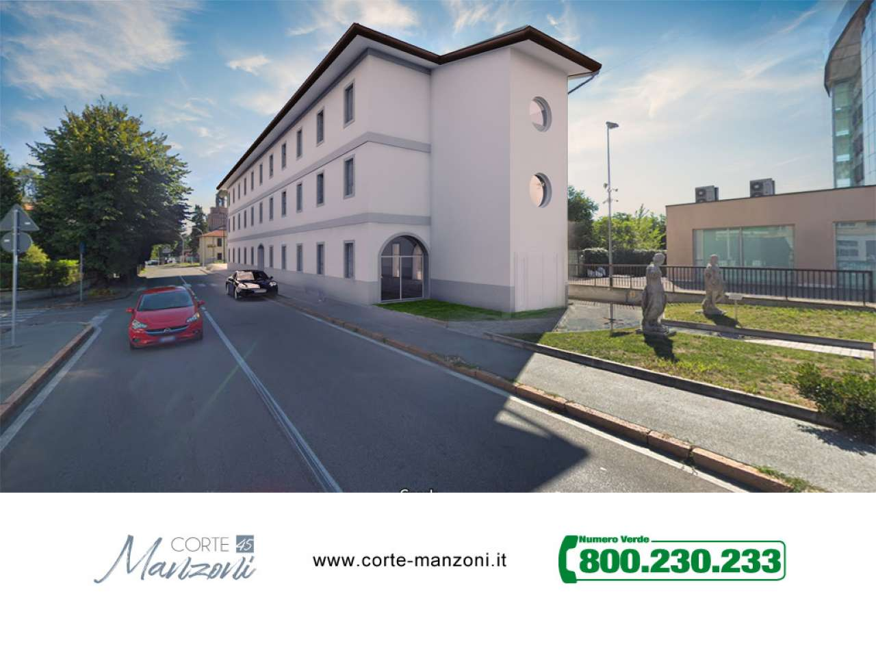 Nuovo appartamento di tre locali in Corte Manzoni, foto 9