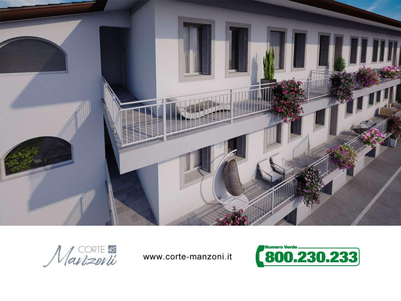 Nuovo appartamento di tre locali in Corte Manzoni, foto 4