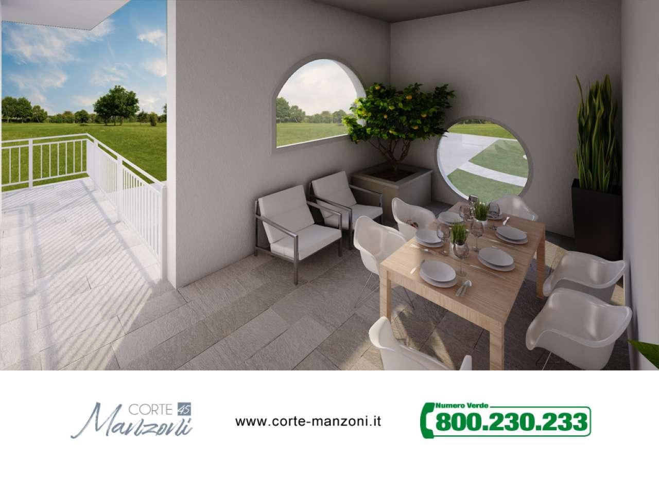 Nuovo appartamento di tre locali in Corte Manzoni, foto 10