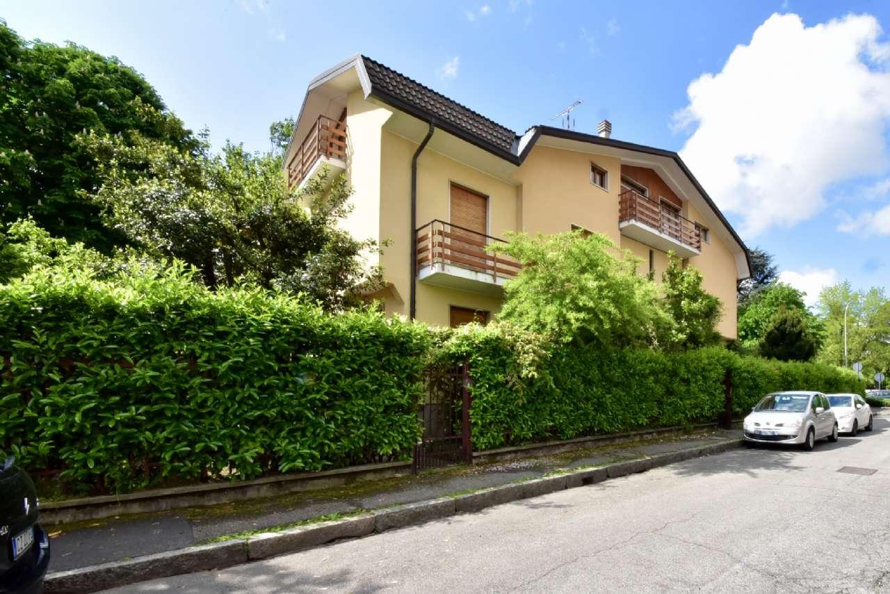 Villa trifamiliare, Via Simone Martini, Centro, Pioltello, foto 17