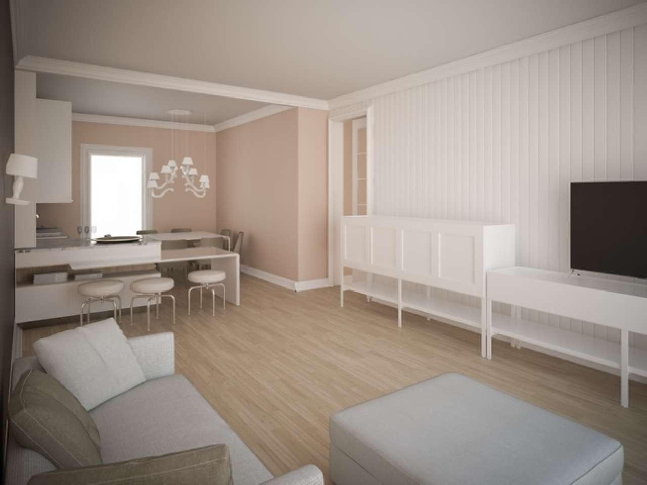 Ampio appartamento con terrazzo a livello e box auto