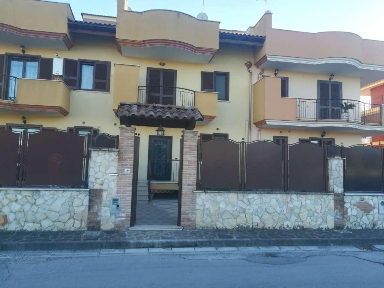 Foto 1 di Villetta a schiera via Paolo Borsellino, Gricignano Di Aversa