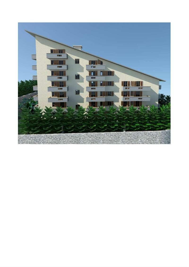 Quadrilocale di nuova costruzione con due balconi e posto auto