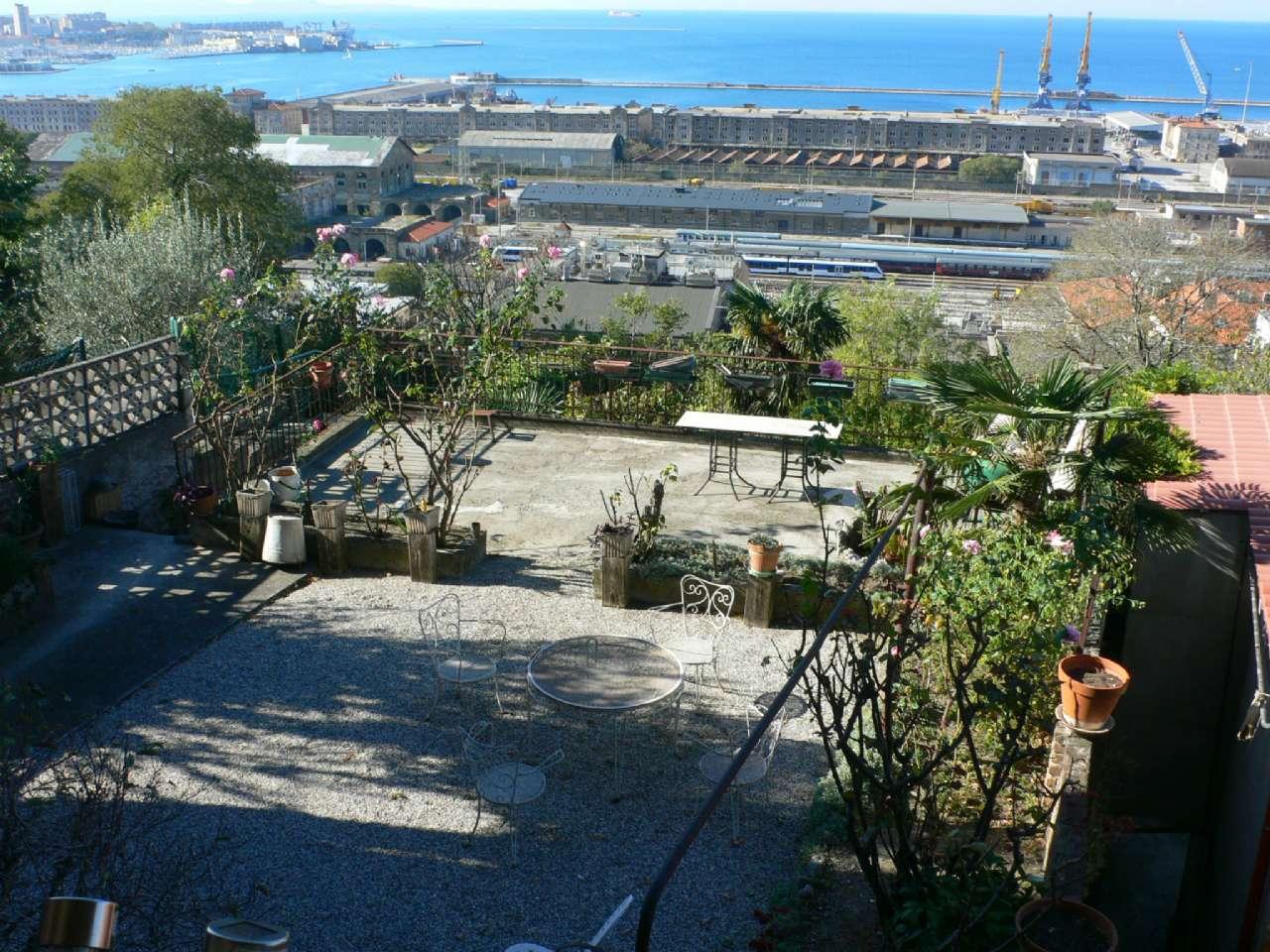 Ampio appartamento in villa con giardino vista golfo e cantina, foto 8