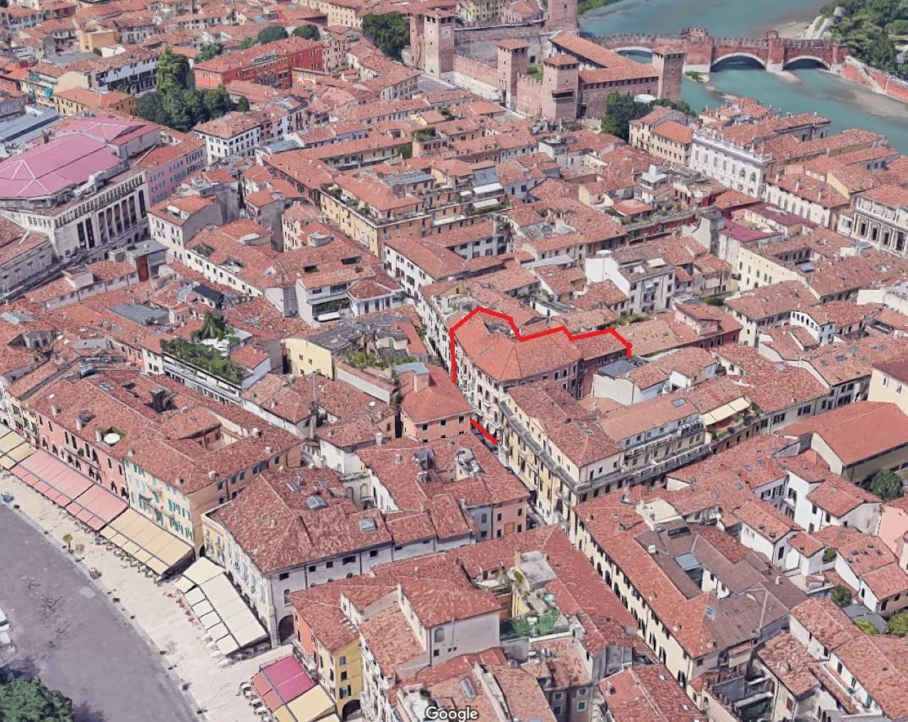 Trilocale, Vicolo Disciplina, centro storico, Verona, foto 17